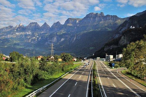 Alpine, Highway, Panorama, Far View, Road, Travel