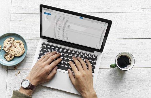 Aerial, Background, Blog, Blogger, Browsing, Cafe