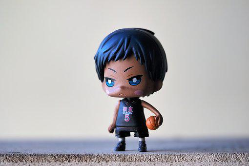 Boy, Male, Toy, Figurine, Cute, Small, Sport, Basket