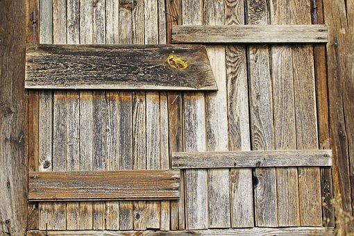 Wooden Door, Wooden Windows, Old Window, Break Up