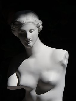 Venus, Gypsum, Model, Sculpture, Woman, Youth, Breast