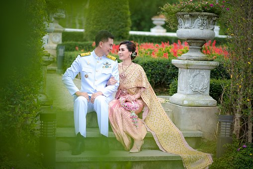 บุคล, Lady, Bride, Wedding, Pair, People
