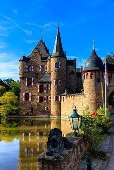 Castle, Satzvey, Burg Satzvey, Middle Ages, Building