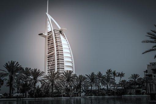 Dubai, Burj Al Arab, Uae, Building, Architecture, Hotel