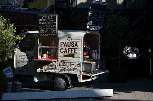 Coffee Break, Quadri-mobile, Café
