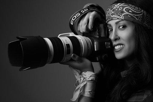 Canon, Portrait, Model, Photography, Camera