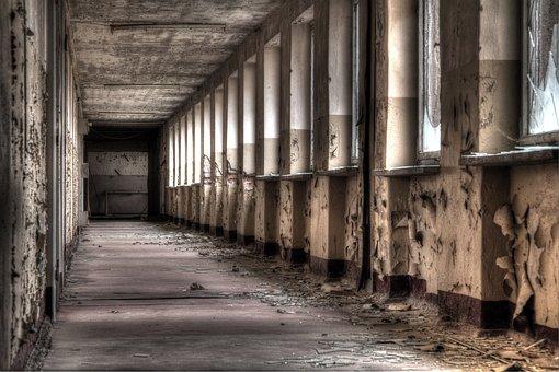 Abandoned, Dilapidated, Shabby, Atmosphere