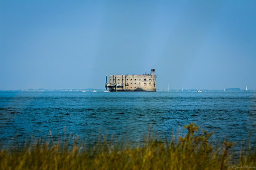 Fort Boyard, Fort, Charente-maritime, France, Sea