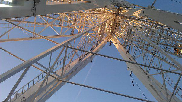 Ferris Wheel, Funfair, Dam, Amsterdam