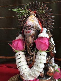 Ganesh, Ganpati, God, India, Religious, Traditional