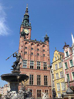 Gdańsk, Hanseatic City, Poland, Old Town Hall