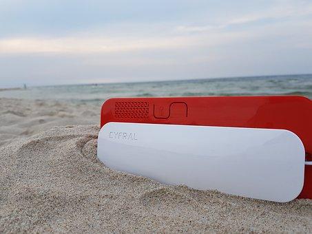 Intercom, Uniphone, Home Station, Sea, Beach, Sand