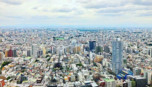 Shinjuku, Tokyo, Nishi-shinjuku, City, Cityscape, Japan