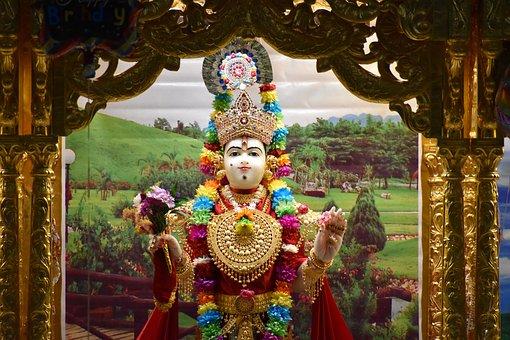Hindu, God, Swami, Narayana, Lakshmi, Narayan