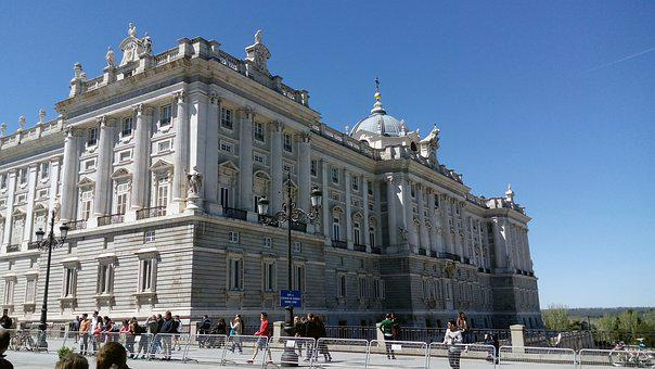 Madrid, Spain, Royal Palace, Architecture, Spanish