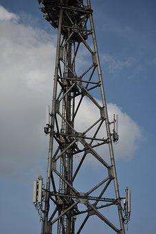 Structure, Metal, Lighting, Antennas, Of Technology