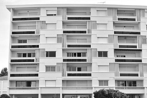 Architecture, White, Building, Modern, City, Window