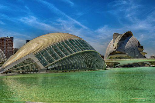 Museum, Oceanographic, Lake, Valencia, Spain