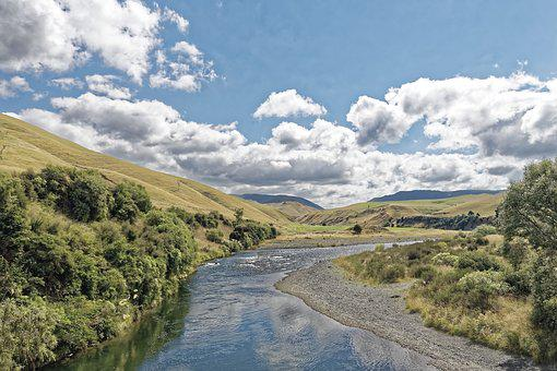 New Zealand, North Island, Rangitikei River