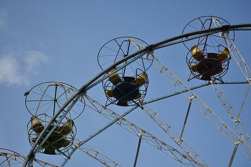 Ferris Wheel, Old, The Decline Of, Structure, Metal