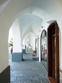 Portico, Arcades, Renaissance, Pointed Arch, Old