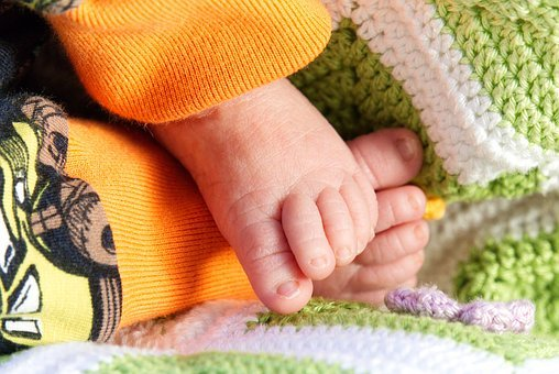 Baby Feet, Feet, Baby, Reborn, Infant, Small, Barefoot