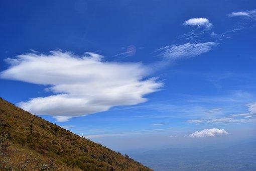 Cloud, Sky, Hill, Landscape, Nature, Summer, Panorama
