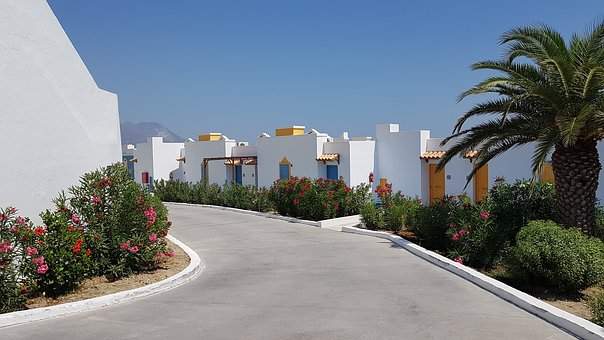 Kos, Greece, Hotels, Kardamena, Summer, Hot, Solar