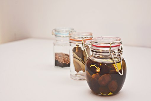 Jar, Spice, Kitchen, Container, Ingredient, Culinary