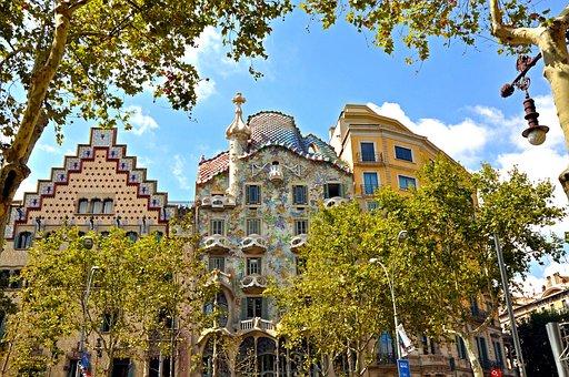 Barcelona, Monument, Architecture, Europe, Travel