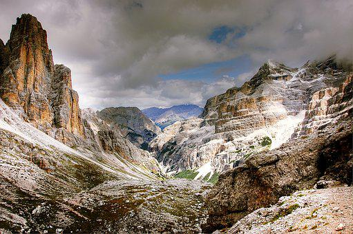 Travenanzes Valley, Dolomites, Mountains, Nature, Italy