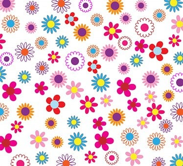 Floral, Flowers, Background, Pattern, Wallpaper, Paper
