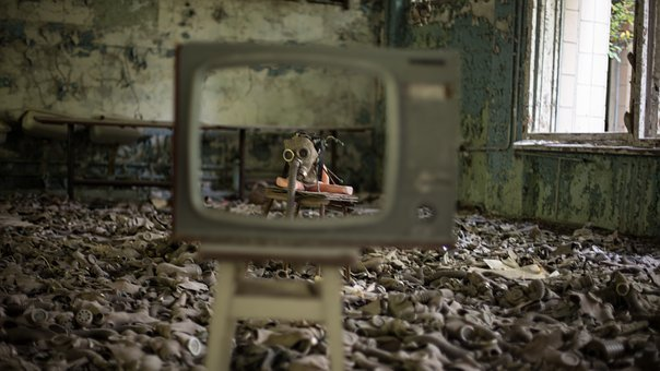 Atom, Nuclear Power Plant, Abandoned, Infested, Was