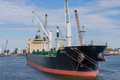 Rotterdam, Port, Ship, Water, Netherlands, Boats, Ships