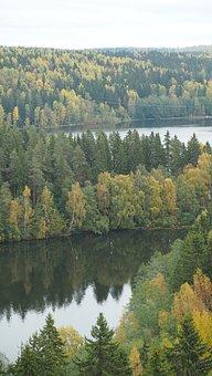 Finnish, Nature, Aulanko, Finland