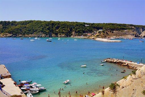 Porto, Boats, Water, Clear, Island, The Quakes, Gargano