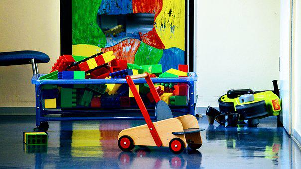 Toys, Kindergarten, Daycare, Building Blocks, Play