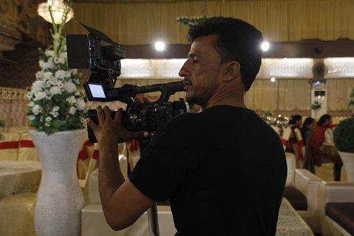 Cameraman, Photographer, People, Portrait, Fashion
