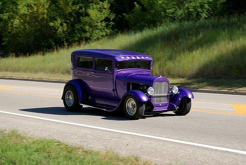 Black Hills Hot Rod, Hotrod, Motion, Classic, Cruise
