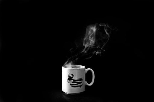 Coffee Cup, Smoke, Steam, Eddy, Heiss, Hot, Coffee