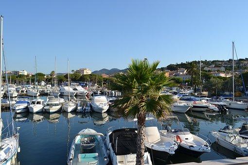 Sainte-maxime, French Riviera, Côte D'azur, Marina