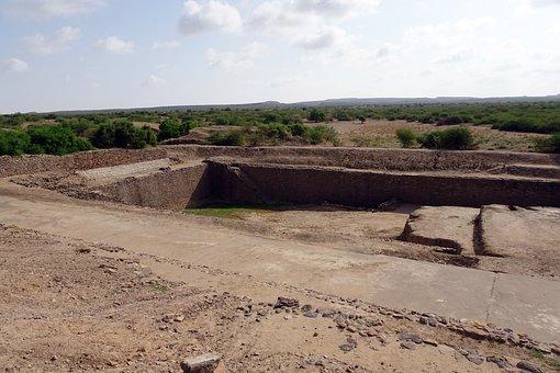 Dholavira, Archaeological Site, Excavation, Bath