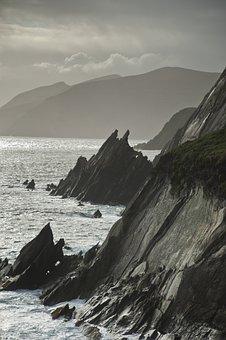 Dingle, Ocean, Ireland, Landscape, Kerry, The Coast