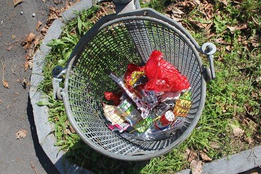 Garbage, Dustbin, Street Trash