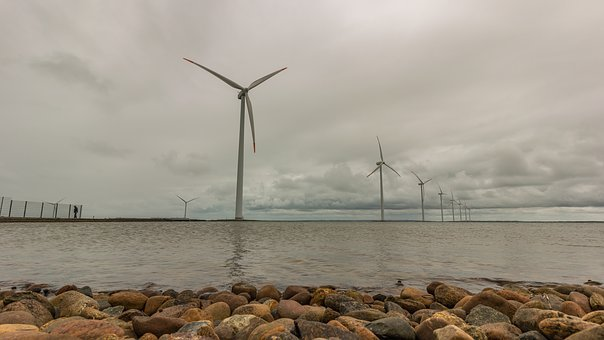 Windräder, Current, Energy, Wind Energy, Wind Power