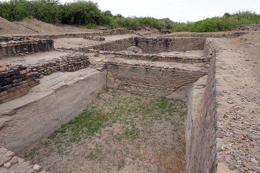 Dholavira, Archaeological Site, Excavation, Ancient