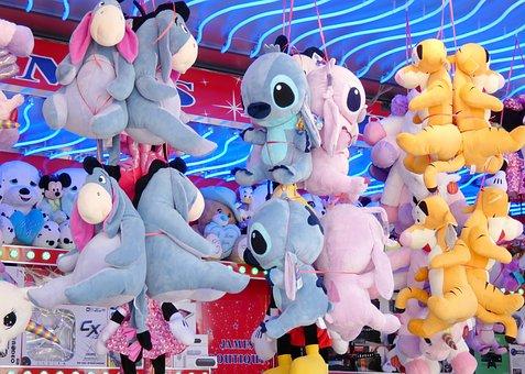 Fair, Festival, Carny, Entertainment, Lottery, Colorful