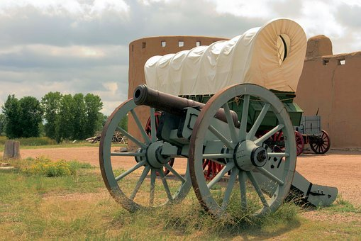 Bent's Old Fort, Fort, Trading Post, Colorado, Cannon