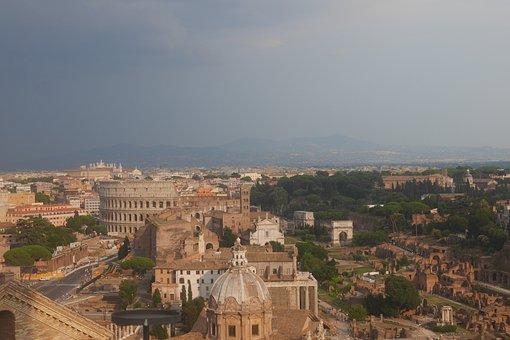 Rome, Italy, City, Historic, Ar, Architecture