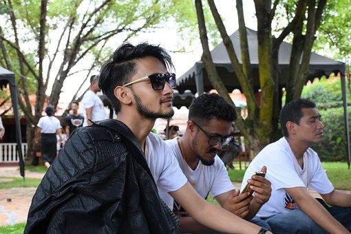 Man, Jacket, Male, People, Person, Guy, Model, Dark